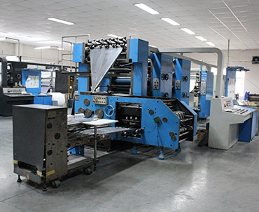 machine d'impression offset